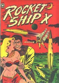 Cover Thumbnail for Rocket Ship X (Fox, 1951 series) #1
