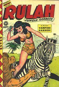 Cover Thumbnail for Rulah (Fox, 1948 series) #18