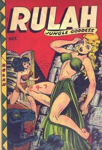 Cover Thumbnail for Rulah (Fox, 1948 series) #19