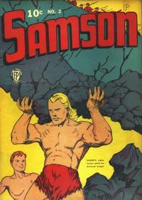 Cover Thumbnail for Samson (Fox, 1940 series) #2