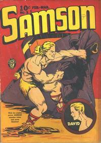 Cover Thumbnail for Samson (Fox, 1940 series) #3