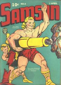 Cover Thumbnail for Samson (Fox, 1940 series) #4