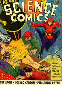 Cover Thumbnail for Science Comics (Fox, 1940 series) #1