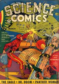 Cover Thumbnail for Science Comics (Fox, 1940 series) #2