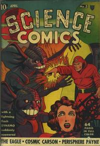Cover Thumbnail for Science Comics (Fox, 1940 series) #3
