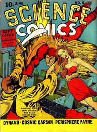 Cover Thumbnail for Science Comics (Fox, 1940 series) #5