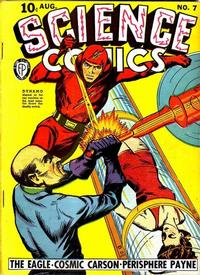 Cover Thumbnail for Science Comics (Fox, 1940 series) #7