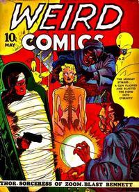Cover Thumbnail for Weird Comics (Fox, 1940 series) #2