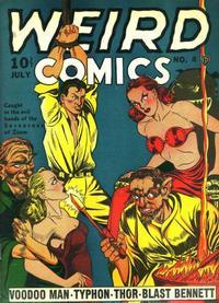 Cover Thumbnail for Weird Comics (Fox, 1940 series) #4