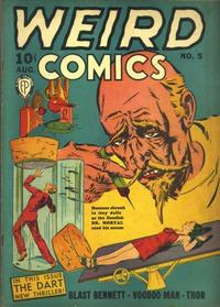 Cover Thumbnail for Weird Comics (Fox, 1940 series) #5