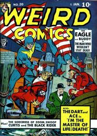 Cover Thumbnail for Weird Comics (Fox, 1940 series) #20