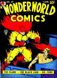 Cover Thumbnail for Wonderworld Comics (Fox, 1939 series) #24