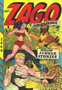 Cover Thumbnail for Zago, Jungle Prince (Fox, 1948 series) #1