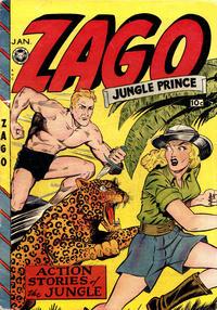 Cover Thumbnail for Zago, Jungle Prince (Fox, 1948 series) #3