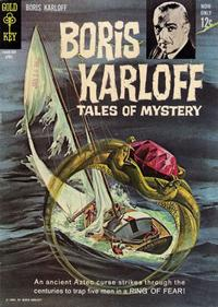 Cover Thumbnail for Boris Karloff Tales of Mystery (Western, 1963 series) #3