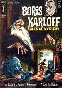 Cover Thumbnail for Boris Karloff Tales of Mystery (Western, 1963 series) #5