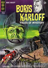 Cover Thumbnail for Boris Karloff Tales of Mystery (Western, 1963 series) #8
