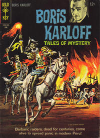 Cover Thumbnail for Boris Karloff Tales of Mystery (Western, 1963 series) #10