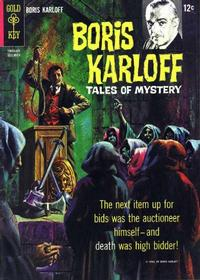 Cover Thumbnail for Boris Karloff Tales of Mystery (Western, 1963 series) #12