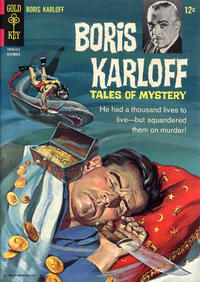 Cover Thumbnail for Boris Karloff Tales of Mystery (Western, 1963 series) #16