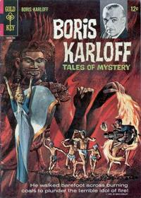 Cover Thumbnail for Boris Karloff Tales of Mystery (Western, 1963 series) #18