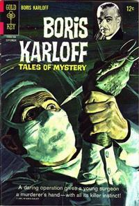 Cover Thumbnail for Boris Karloff Tales of Mystery (Western, 1963 series) #19