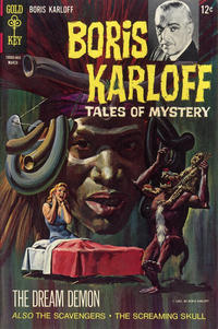 Cover Thumbnail for Boris Karloff Tales of Mystery (Western, 1963 series) #21