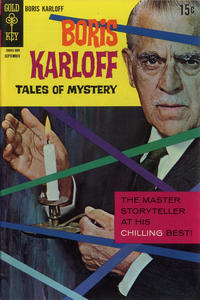 Cover Thumbnail for Boris Karloff Tales of Mystery (Western, 1963 series) #23