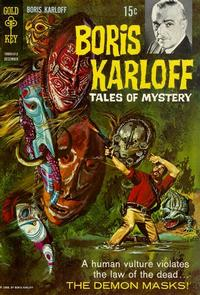 Cover Thumbnail for Boris Karloff Tales of Mystery (Western, 1963 series) #24