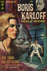 Cover Thumbnail for Boris Karloff Tales of Mystery (Western, 1963 series) #25