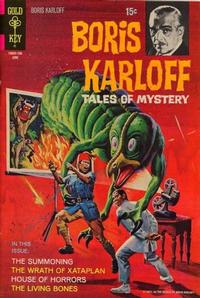 Cover Thumbnail for Boris Karloff Tales of Mystery (Western, 1963 series) #35