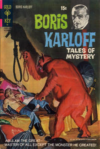 Cover Thumbnail for Boris Karloff Tales of Mystery (Western, 1963 series) #38