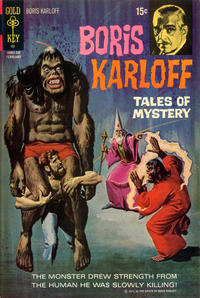 Cover for Boris Karloff Tales of Mystery (Western, 1963 series) #39