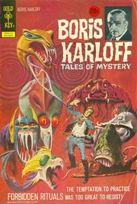 Cover Thumbnail for Boris Karloff Tales of Mystery (Western, 1963 series) #43 [20¢]
