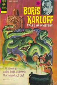 Cover Thumbnail for Boris Karloff Tales of Mystery (Western, 1963 series) #45 [20¢]