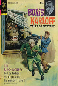 Cover Thumbnail for Boris Karloff Tales of Mystery (Western, 1963 series) #46