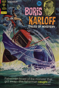 Cover Thumbnail for Boris Karloff Tales of Mystery (Western, 1963 series) #47