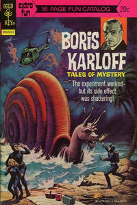 Cover Thumbnail for Boris Karloff Tales of Mystery (Western, 1963 series) #51