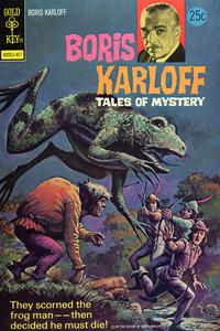 Cover Thumbnail for Boris Karloff Tales of Mystery (Western, 1963 series) #55 [Gold Key]