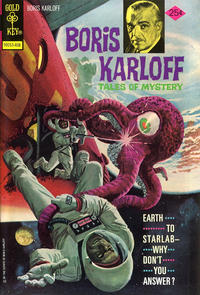 Cover Thumbnail for Boris Karloff Tales of Mystery (Western, 1963 series) #56 [Gold Key]