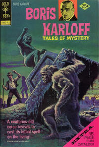 Cover Thumbnail for Boris Karloff Tales of Mystery (Western, 1963 series) #58