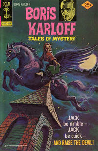 Cover Thumbnail for Boris Karloff Tales of Mystery (Western, 1963 series) #63 [Gold Key]