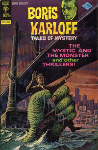 Cover Thumbnail for Boris Karloff Tales of Mystery (Western, 1963 series) #64 [Gold Key]
