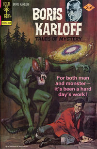Cover Thumbnail for Boris Karloff Tales of Mystery (Western, 1963 series) #69 [Gold Key Variant]