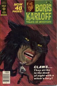 Cover Thumbnail for Boris Karloff Tales of Mystery (Western, 1963 series) #81