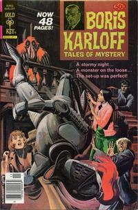 Cover Thumbnail for Boris Karloff Tales of Mystery (Western, 1963 series) #86