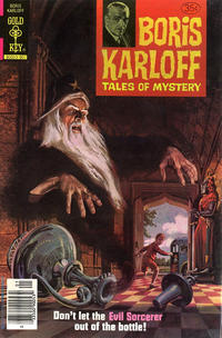 Cover Thumbnail for Boris Karloff Tales of Mystery (Western, 1963 series) #88 [Gold Key]