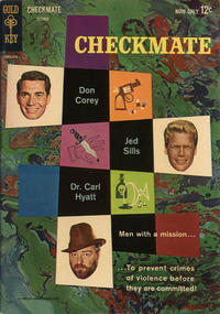 Cover Thumbnail for Checkmate (Western, 1962 series) #1