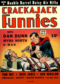 Cover Thumbnail for Crackajack Funnies (Western, 1938 series) #8