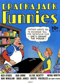 Cover Thumbnail for Crackajack Funnies (Western, 1938 series) #13